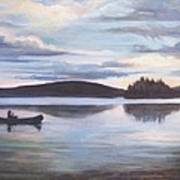 Payette Lake Idaho Art Print