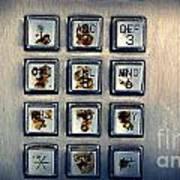 Payphone Keypad Art Print