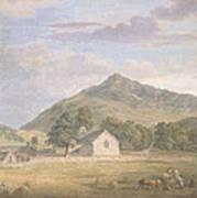 Haymaking At Dolwyddelan Art Print