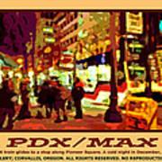 Pdx Max II Art Print