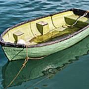 Pea-green Boat Art Print