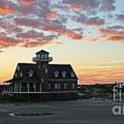 Oregon Inlet Life Saving Station 2693 Art Print