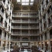 Peabody Library Baltimore Art Print