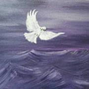 Peace Amidst The Storm Art Print