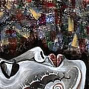 Peace Amidst Turmoil Art Print
