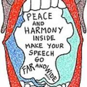 Peace And Harmony Art Print