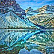 Peace At Bow Lake Art Print
