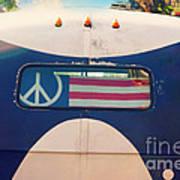 Peace Bus Art Print