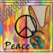 Peace In Every Color Art Print
