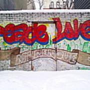 Peace Love Art Print