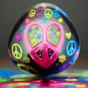 Peace Love Spoon Art Print