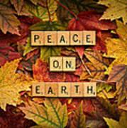 Peace On Earth-autumn Art Print