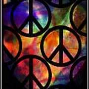 Peace Series Viii Art Print