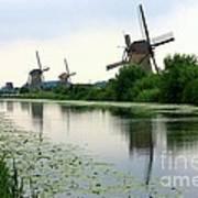 Peaceful Dutch Canal Art Print by Carol Groenen