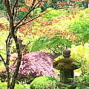 Peaceful Japanese Garden Art Print