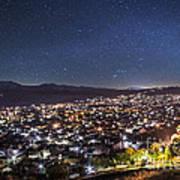 Peaceful Night In Bitola Art Print