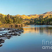 Peaceful River Art Print by Robert Bales