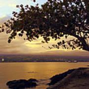 Peaceful Sundown On Hilo Bay - Hawaii Art Print