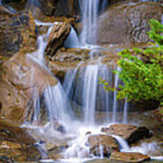 Peaceful Waterfall Art Print