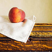 Peach Still Life Art Print