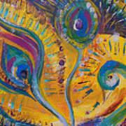 Peacock Dreams Art Print