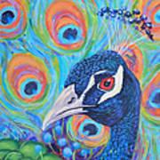 Peacock Pride Art Print