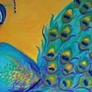 Peacock Prince Art Print
