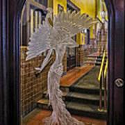 Peacock Room Door Art Print