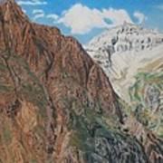 Peaks Of Ouray Art Print