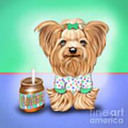 Peanut Butter Lover Art Print