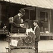 Peanut Vendor, 1910 Art Print