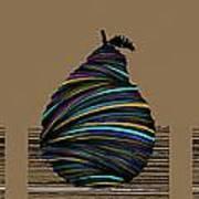 Pear 2003 Tan Art Print