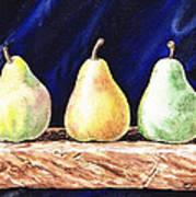 Pear Pear And A Pear Art Print