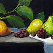 Pear Row Art Print