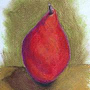 Pear Study 3 Art Print
