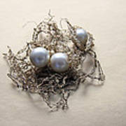 Pearls Art Print by Lali Kacharava