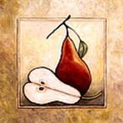 Pears Diptych Part Two Art Print