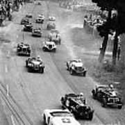 Pebble Beach California Sports Car Races Auto Road Race April 11 1954 Art Print