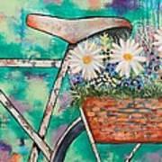 Pedal Petal Art Print