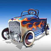 Peddle Car Art Print by Mike McGlothlen