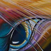 Peeping Eye Art Print