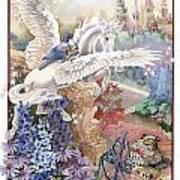 Pegasus Art Print by Lynette Yencho