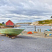 Peggy's Cove 1 Art Print