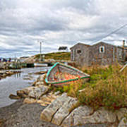 Peggy's Cove 12 Art Print