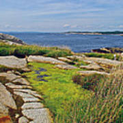 Peggy's Cove From Lighthouse-ns Art Print