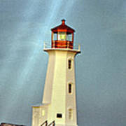 Peggy's Cove Lighthouse 2 Art Print