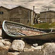 Peggy's Cove Nova Scotia  Art Print by Cindy Rubin