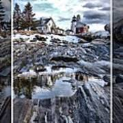 Pemaquid Lighthouse Art Print by Victoria  Dauphinee