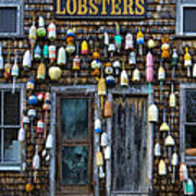 Pemaquid Lobster Shack Art Print