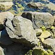 Pembroke Rock Art Print